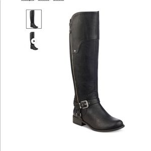 NEW Guess 'Harson' wide calf boots